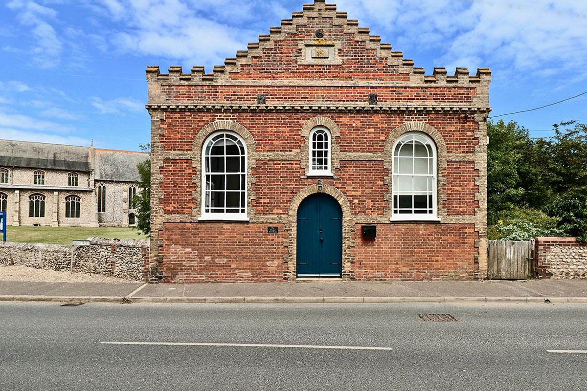 The Chapel Thornham self catering Nofolk Coast